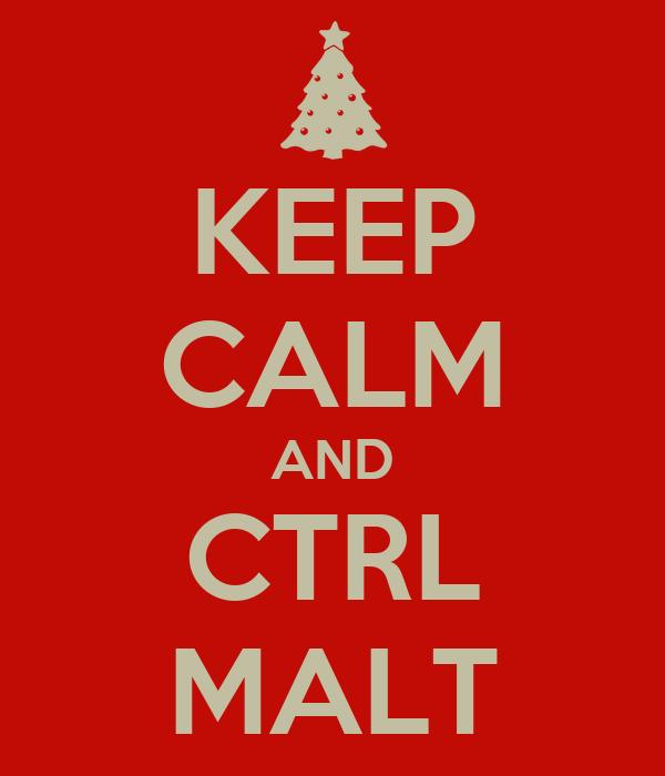 KEEP CALM AND CTRL MALT