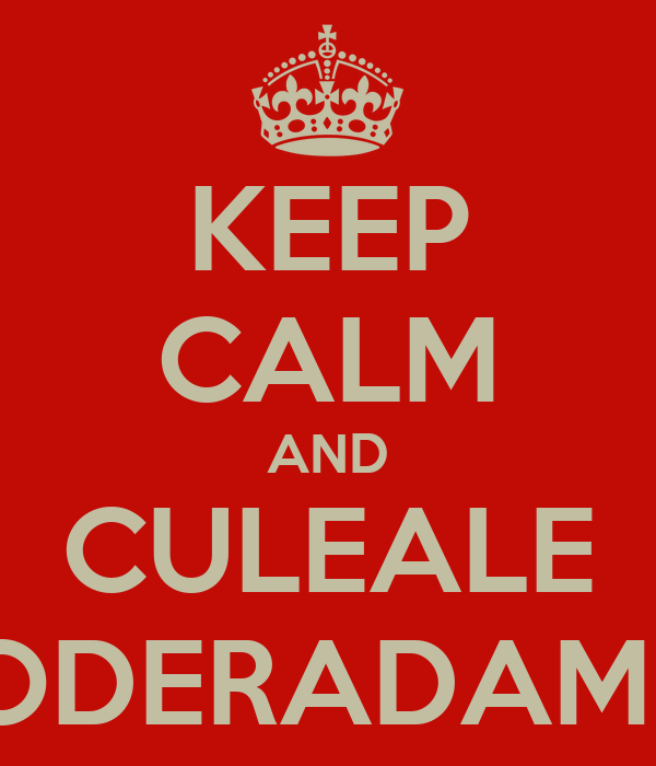 KEEP CALM AND CULEALE EMPODERADAMENTE