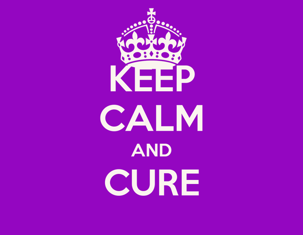 KEEP CALM AND CURE