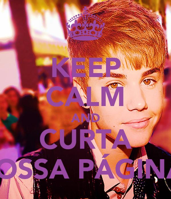 KEEP CALM AND CURTA NOSSA PÁGINA!