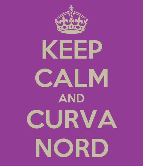 KEEP CALM AND CURVA NORD