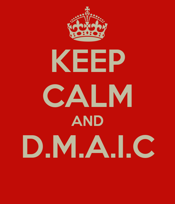 KEEP CALM AND D.M.A.I.C