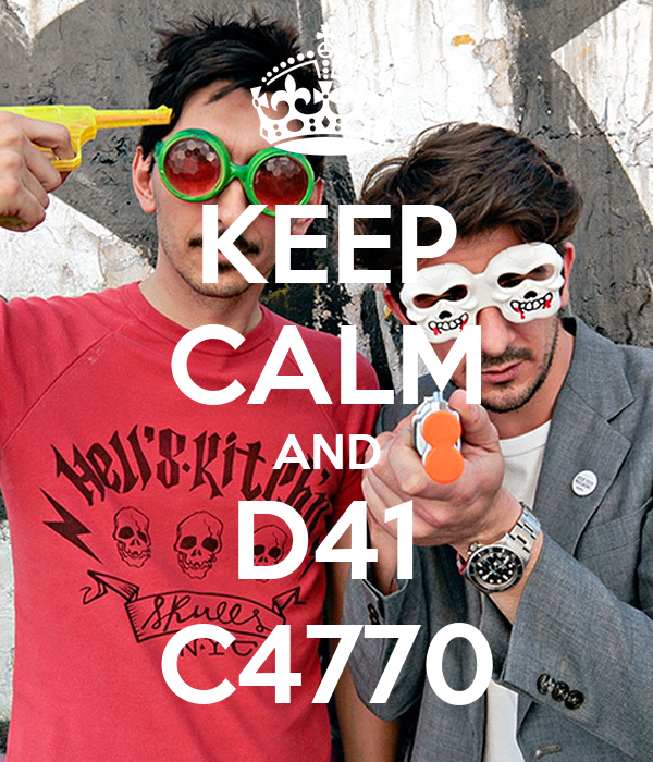 KEEP CALM AND D41 C4770