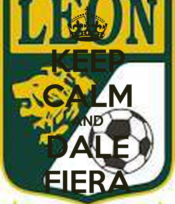 KEEP CALM AND DALE FIERA