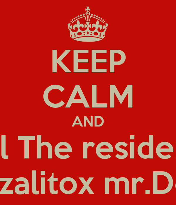 KEEP CALM AND Dale like a All The resident Evil Games Gonzalitox mr.Death