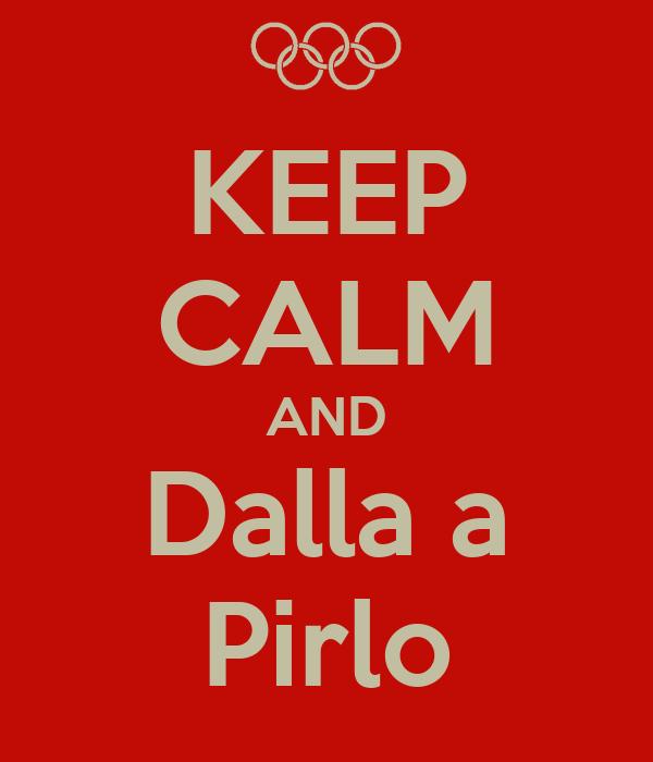 KEEP CALM AND Dalla a Pirlo