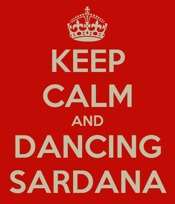 KEEP CALM AND DANCING SARDANA