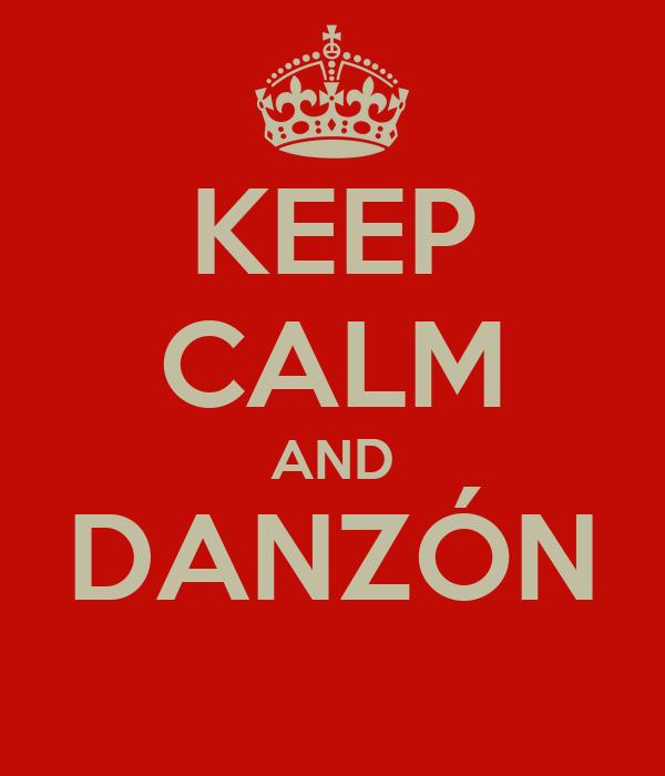 KEEP CALM AND DANZÓN