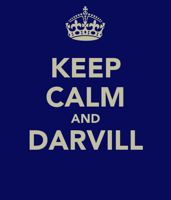 KEEP CALM AND DARVILL