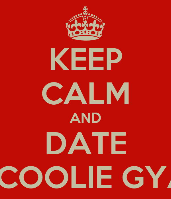 KEEP CALM AND DATE A COOLIE GYAL