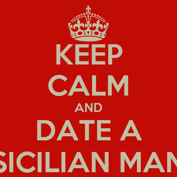 Sicilian men dating