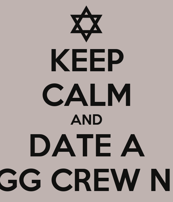 KEEP CALM AND DATE A SWAGG CREW NIGGA