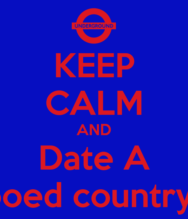 KEEP CALM AND Date A Tattooed country man