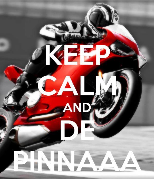 KEEP CALM AND DE PINNAAA