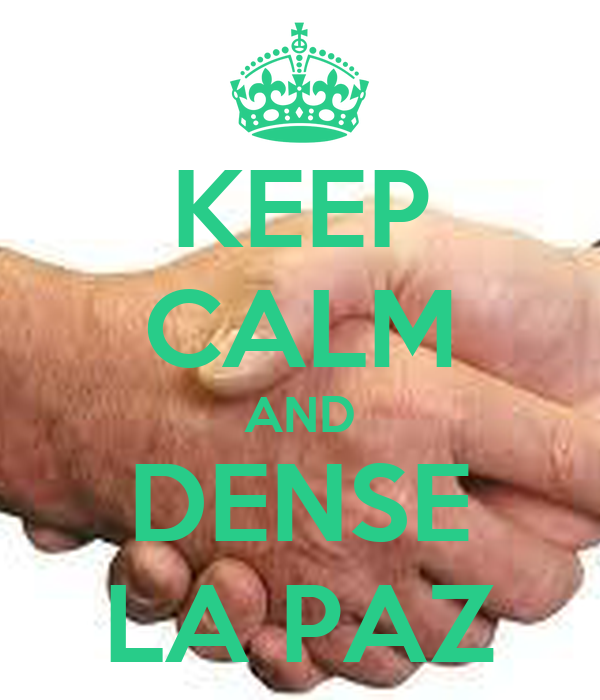 KEEP CALM AND DENSE LA PAZ