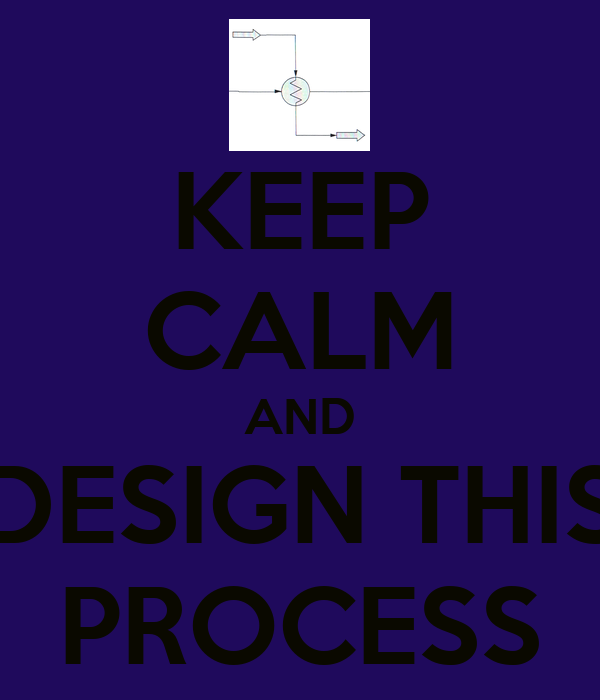 KEEP CALM AND DESIGN THIS PROCESS
