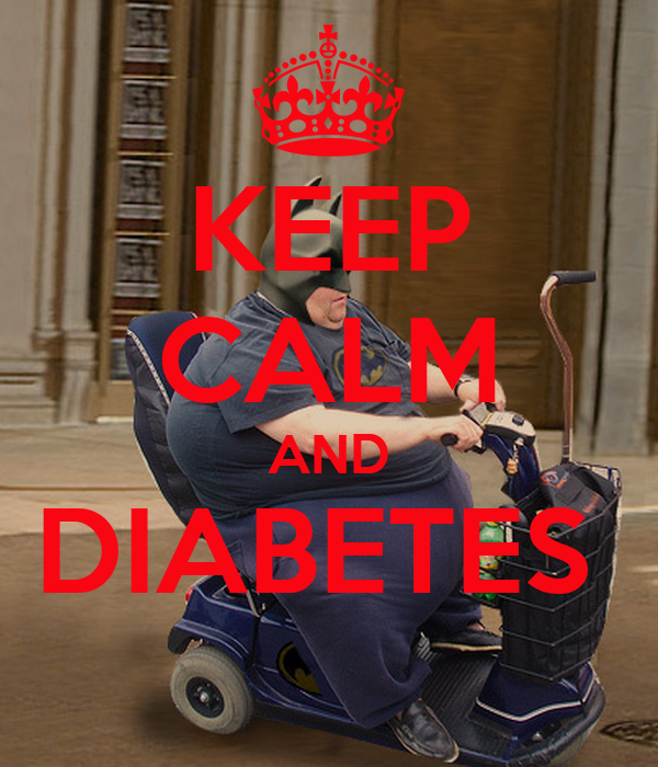 KEEP CALM AND DIABETES
