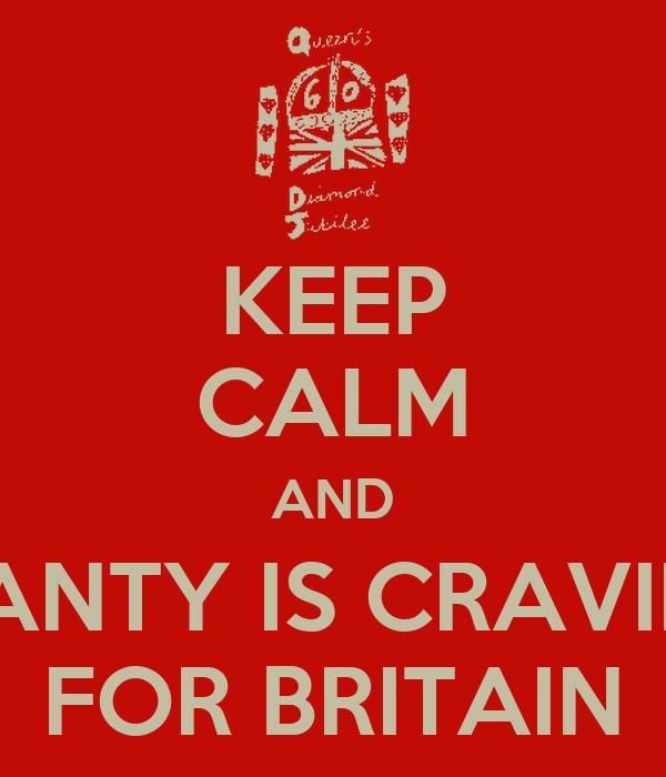 KEEP CALM AND DIANTY IS CRAVING FOR BRITAIN