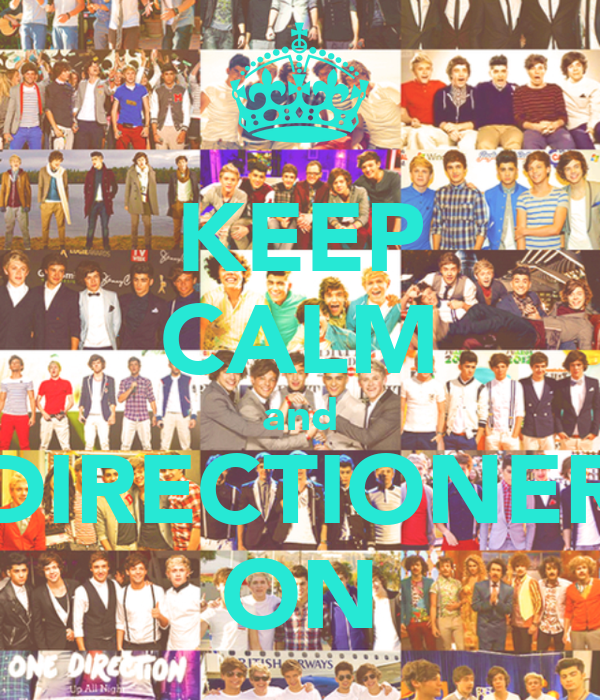 KEEP CALM and DIRECTIONER ON
