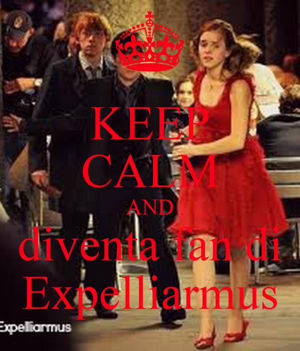 KEEP CALM AND diventa fan di Expelliarmus