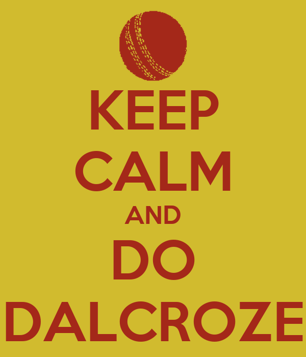 KEEP CALM AND DO DALCROZE
