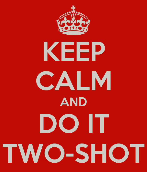 KEEP CALM AND DO IT TWO-SHOT