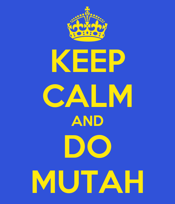 KEEP CALM AND DO MUTAH