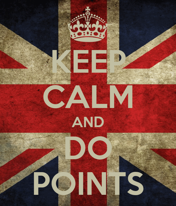KEEP CALM AND DO POINTS