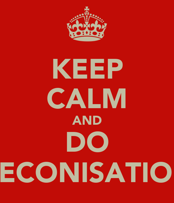 KEEP CALM AND DO PRECONISATIONS