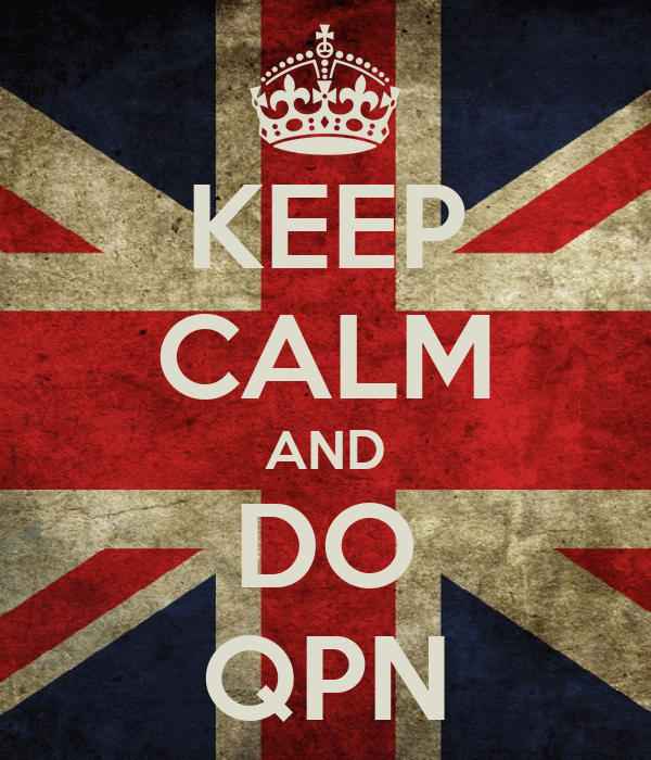 KEEP CALM AND DO QPN
