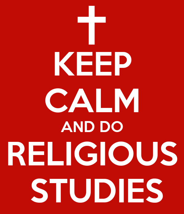 KEEP CALM AND DO RELIGIOUS STUDIES Poster | SRIDHAR