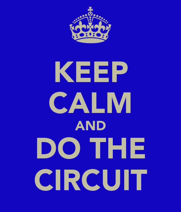 KEEP CALM AND DO THE CIRCUIT