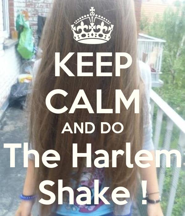 KEEP CALM AND DO The Harlem Shake !