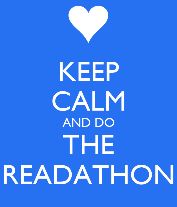 KEEP CALM AND DO THE READATHON