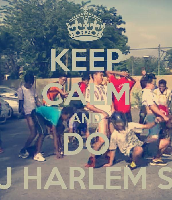 KEEP CALM AND DO THE SJ HARLEM SHAKE
