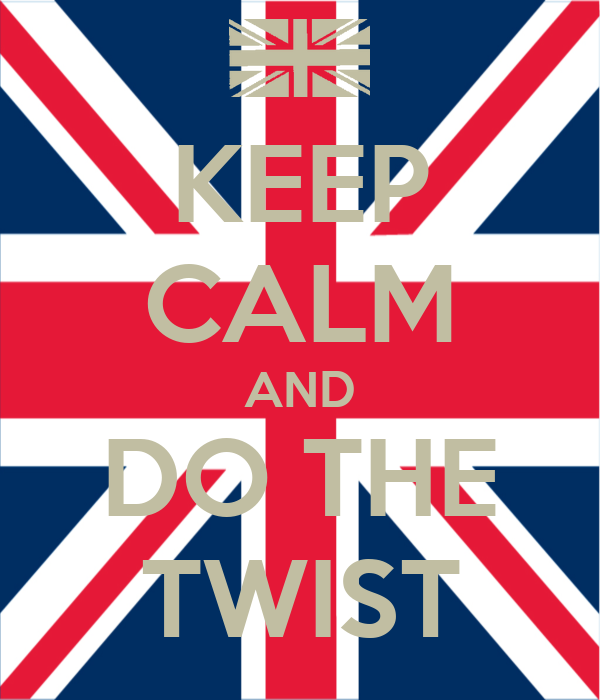 KEEP CALM AND DO THE TWIST