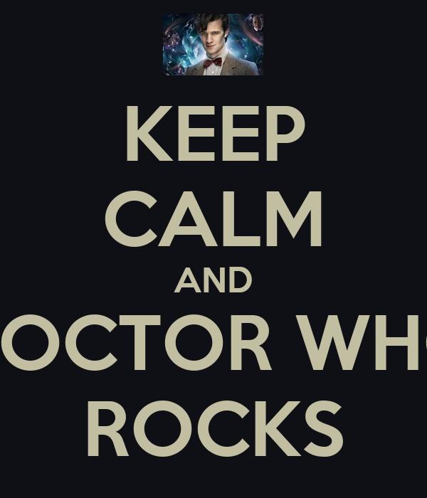 keep calm and doctor who rocks poster nalmuhtadi keep calm o matic