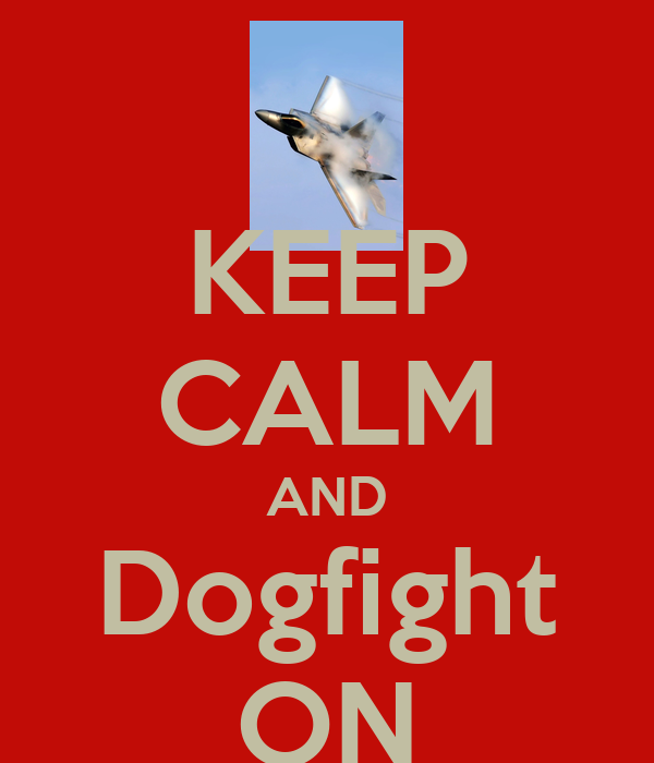 KEEP CALM AND Dogfight ON