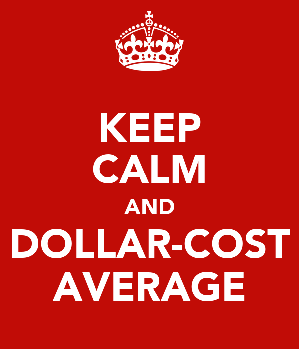 KEEP CALM AND DOLLAR-COST AVERAGE