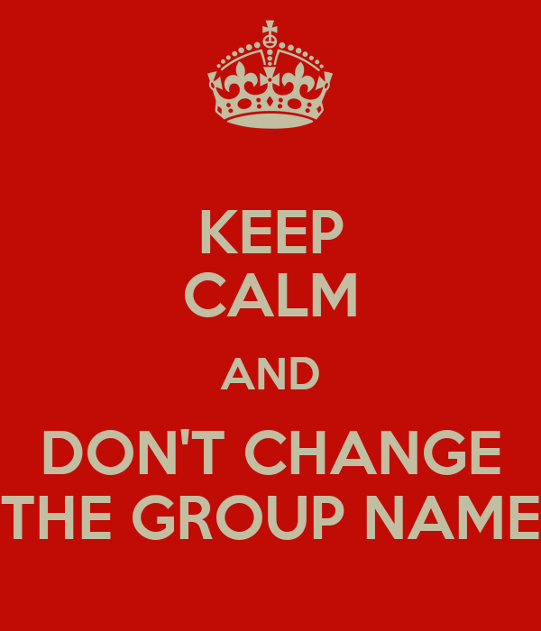 how to change the name of a group on roblox