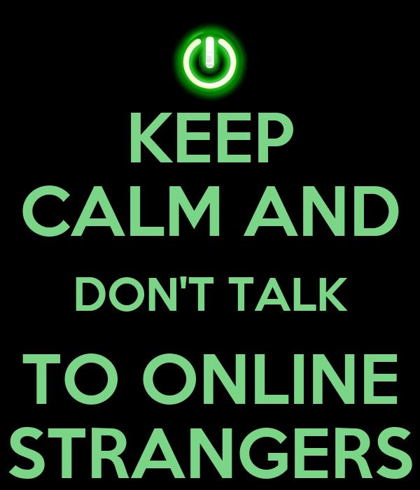 talk to strangers online video