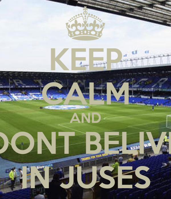 KEEP CALM AND DONT BELIVE IN JUSES
