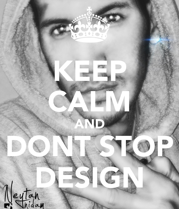 KEEP CALM AND DONT STOP DESIGN