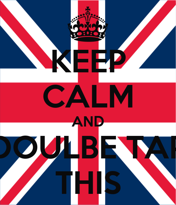 KEEP CALM AND DOULBE TAP THIS