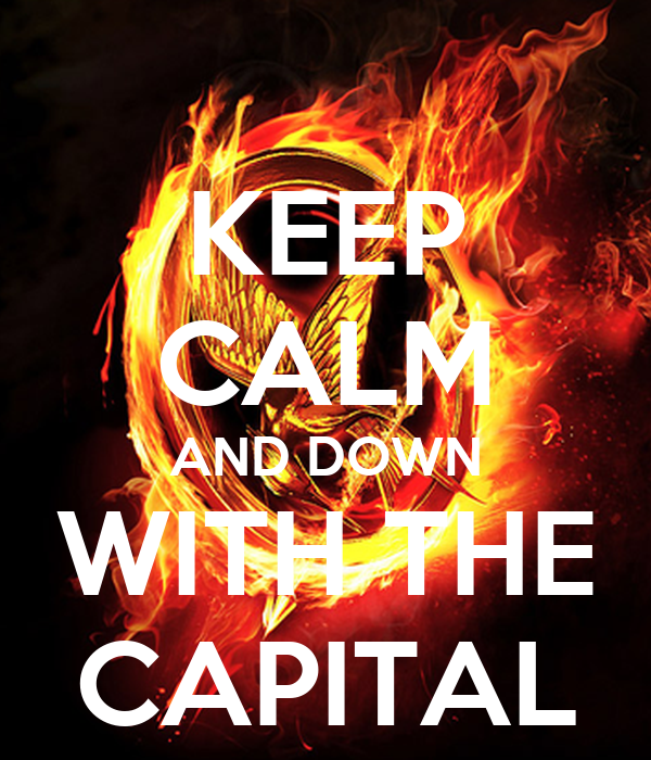 KEEP CALM AND DOWN WITH THE CAPITAL