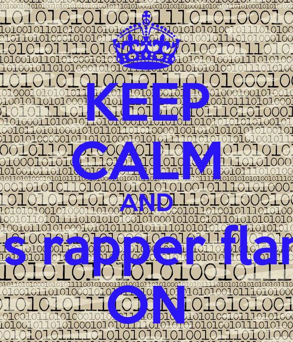 KEEP CALM AND dr vrius rapper flan calan ON