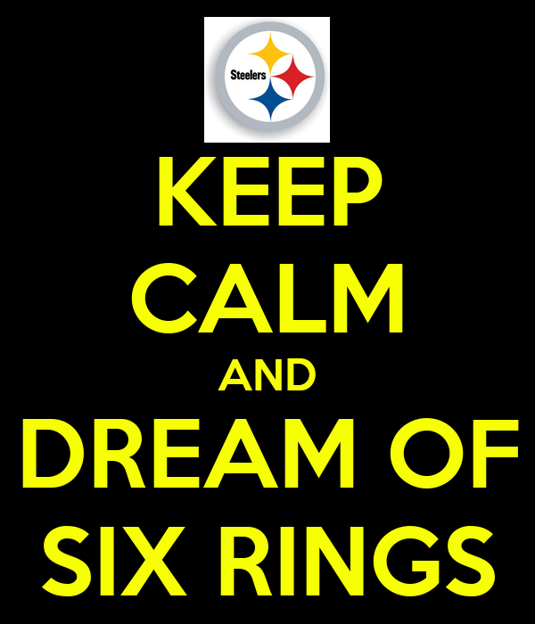 KEEP CALM AND DREAM OF SIX RINGS