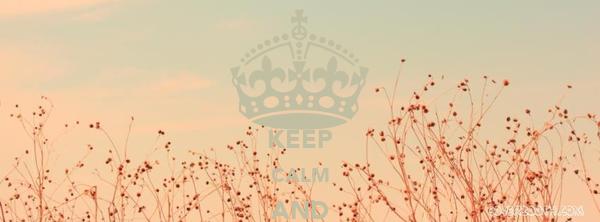 KEEP CALM AND DREAM OM