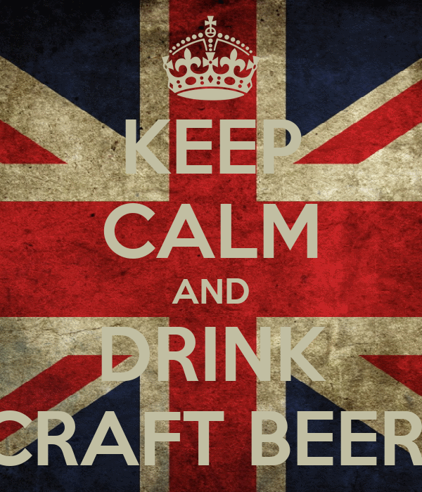 KEEP CALM AND DRINK CRAFT BEER!