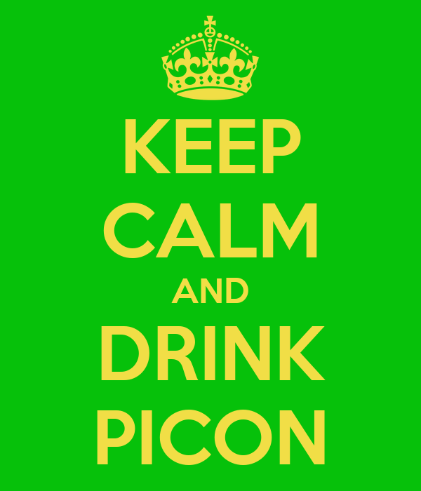 KEEP CALM AND DRINK PICON